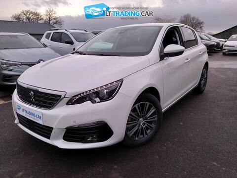 PEUGEOT 308 II PHASE 2 - PURETECH 130CH S&S EAT8 ALLURE PACK - 22990€