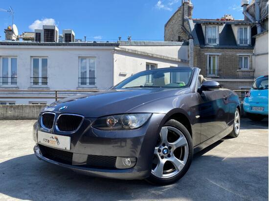 Photo BMW SERIE 3 CABRIOLET